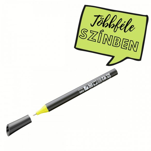 Neuland FineOne® Sketch, 0.5 mm, vékony hegyű, pasztell sárga, 88220502