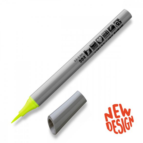 Neuland FineOne® Art brush nib 0,5-5 mm, 104 grey 1