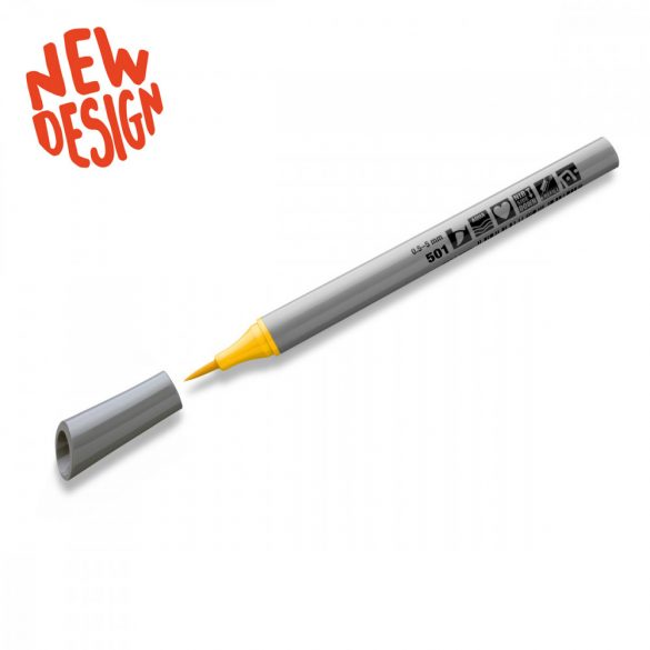Neuland FineOne® Art, ecsethegyű, sárga, 88340501