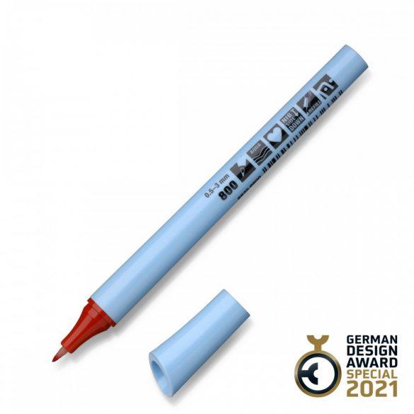 Neuland FineOne® Flex, rugalmas hegy, 0.5-3 mm, barna