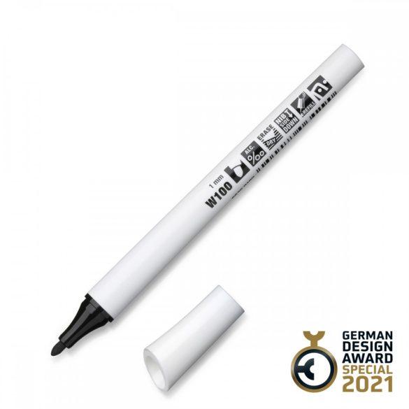 Neuland FineOne® Whiteboard, kerek hegyű, 1 mm – W100 fekete