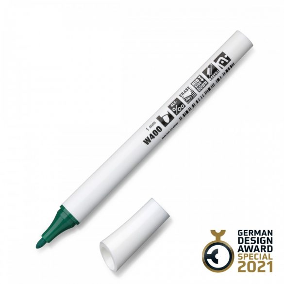 Neuland FineOne® Whiteboard, kerek hegyű, 1 mm – W400 zöld