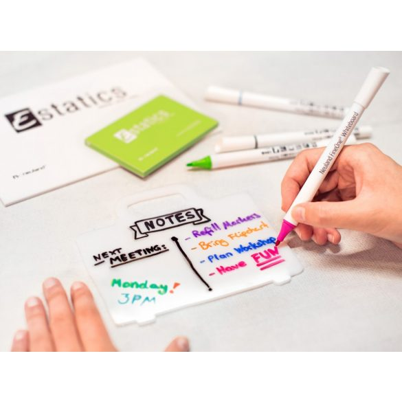 Neuland FineOne® Whiteboard, kerek hegyű, 1 mm – W401 világos zöld