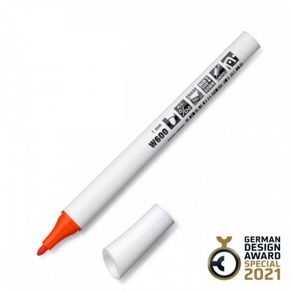Neuland FineOne® Whiteboard, kerek hegyű, 1 mm – W600 narancs
