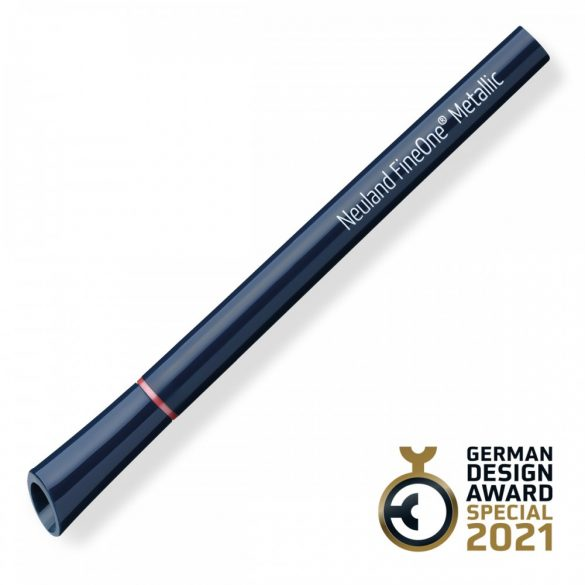 Neuland FineOne® Metallic, kerek hegyű 1 mm – M125, piros