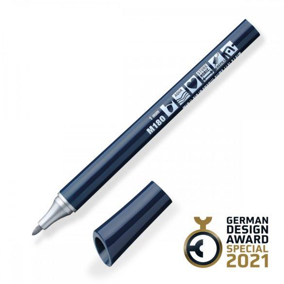 Neuland FineOne® Metallic, kerek hegyű 1 mm – M180, ezüst
