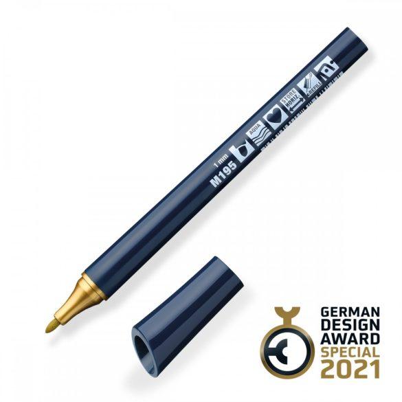 Neuland FineOne® Metallic, kerek hegyű 1 mm – M195, arany