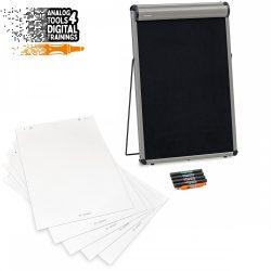 TableTop asztali flipchart tábla szett- Különleges ajánlat