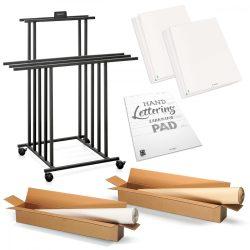 Augusztuszi különleges ajánlat:  Paperino® flipchart és pinboard papírtartó állvány kiegészítőkkel